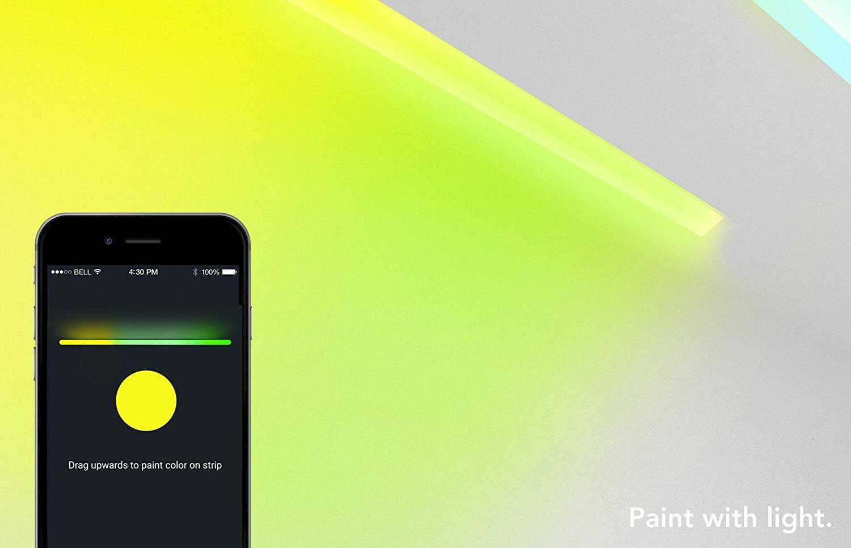 LIFX Z Wi-Fi Smart LED 1m Extension Light Strip - 4 Pack