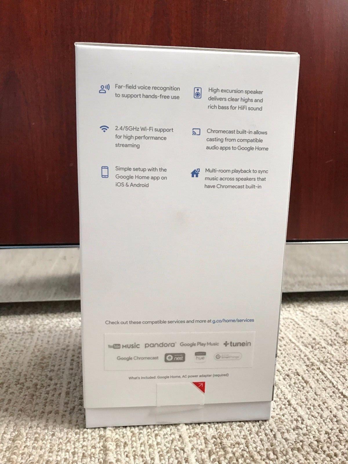 Google Home - White Slate (Parallel Import)