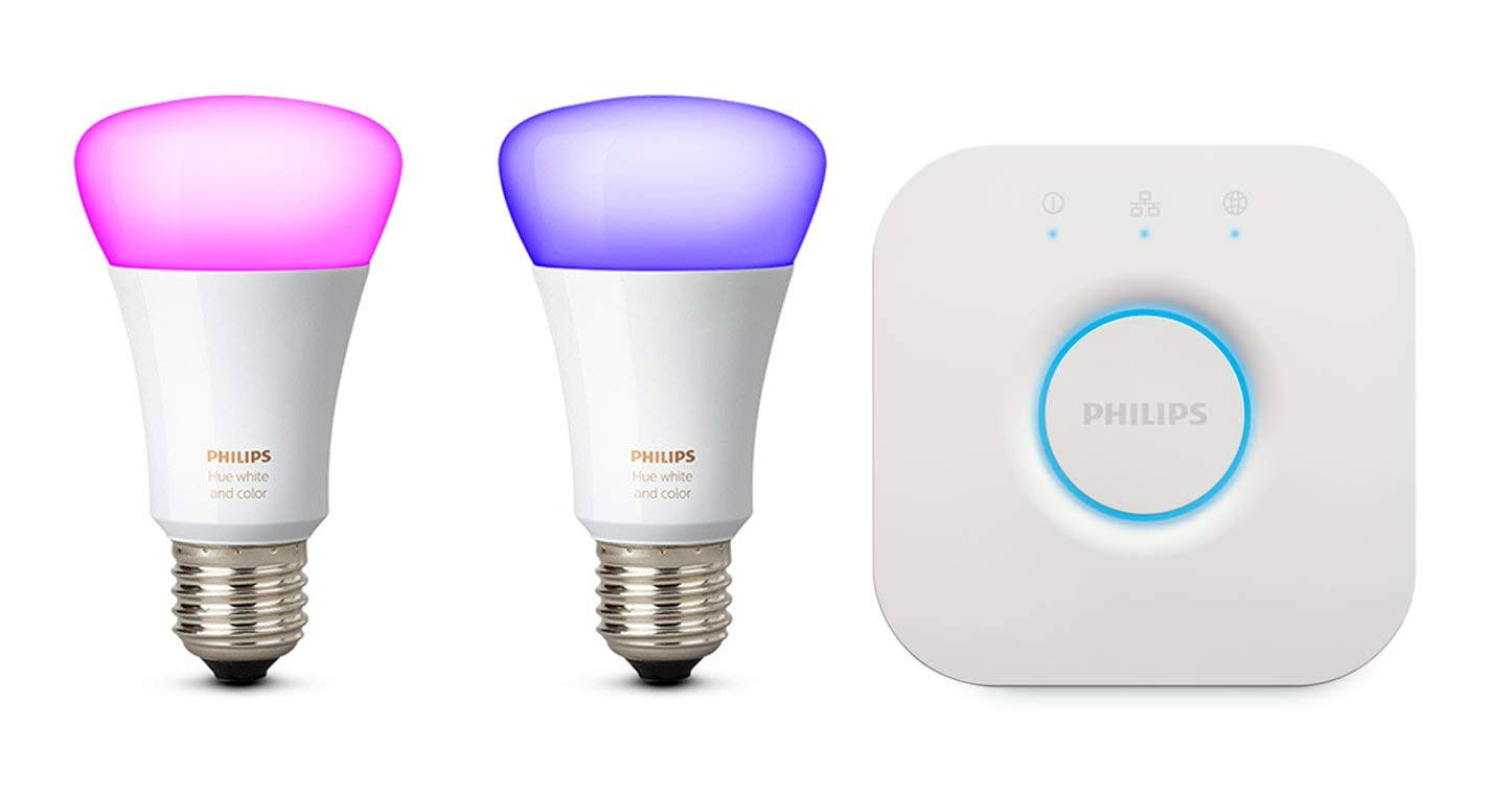 Philips Hue Praxis.Philips Hue White And Colour Ambiance Mini Starter Kit E27 10 W Energy Class A
