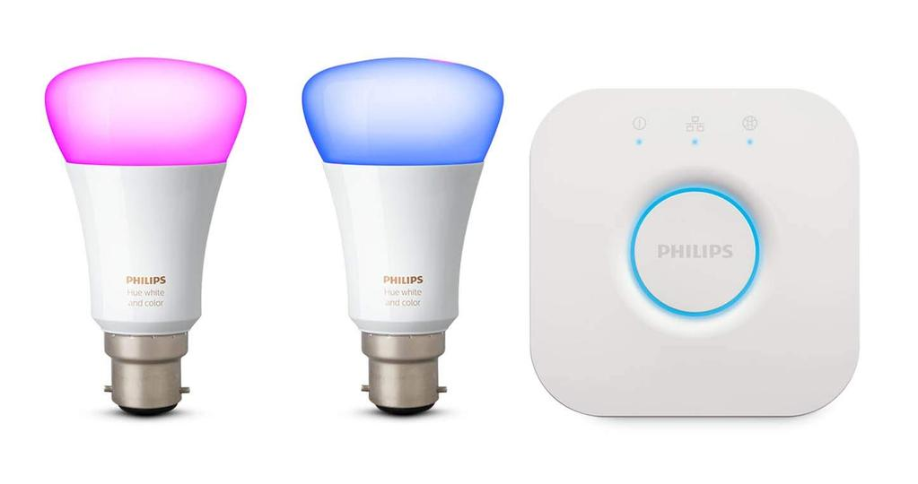 philips hue white and colour ambiance mini starter kit. Black Bedroom Furniture Sets. Home Design Ideas